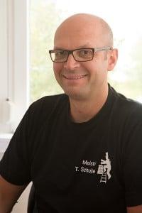 Schornsteinfegermeister Torsten Schulze